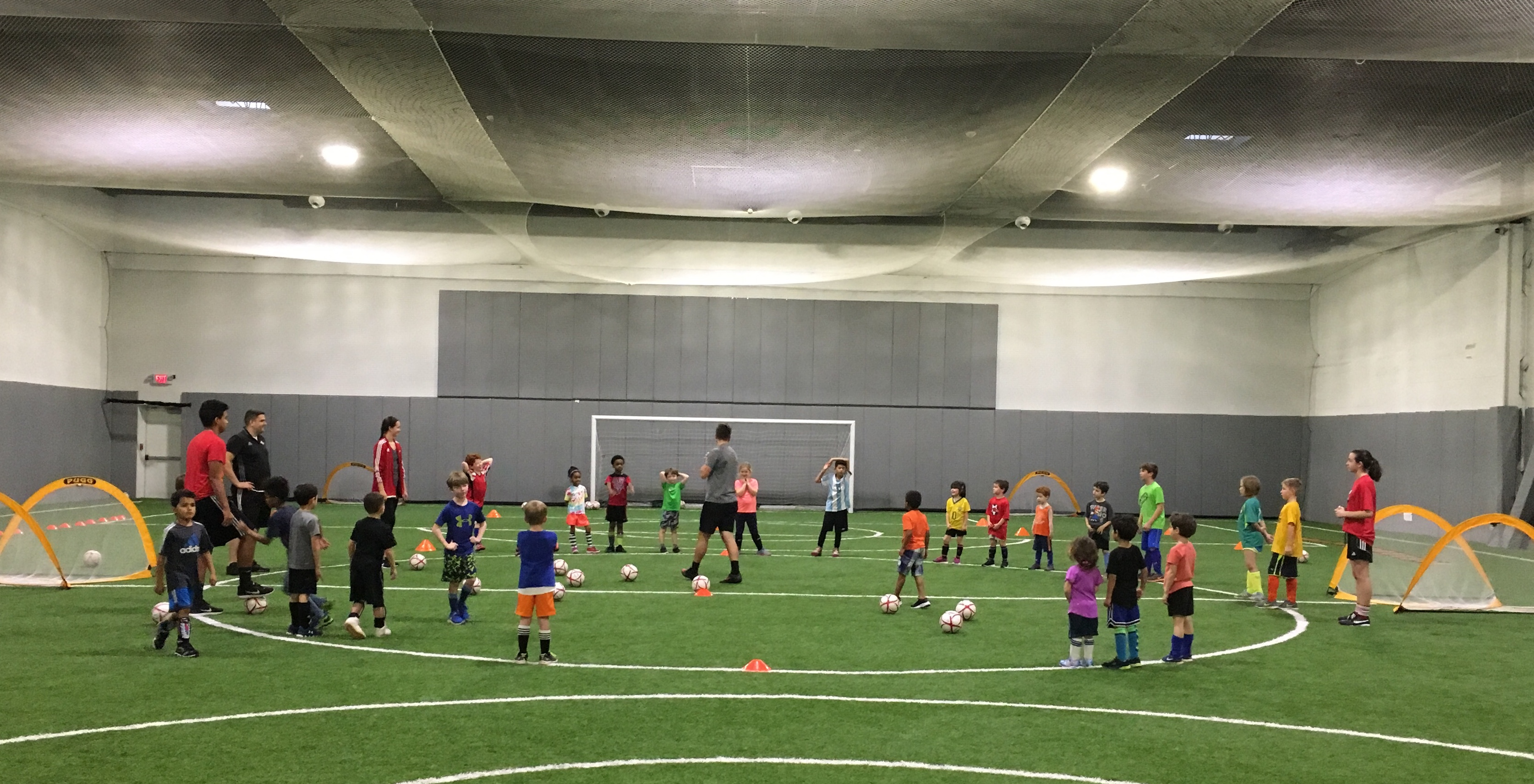NEW--Indoor Skills Training for Rec Players Ages 4-10